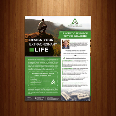 Executive and Wellness Consulting Services Marketing collateral  Draft # 46 by Kaiza