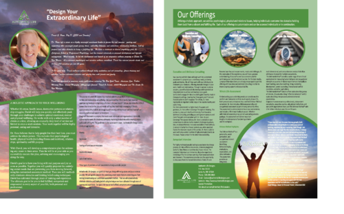 Executive and Wellness Consulting Services Marketing collateral  Draft # 52 by FEGHDD