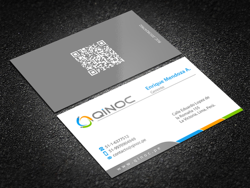 QINOC S.A.C. Business Cards and Stationery Winning Design by einsanimation