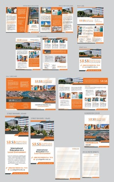 MArketing materials for business school Marketing collateral  Draft # 22 by Achiver