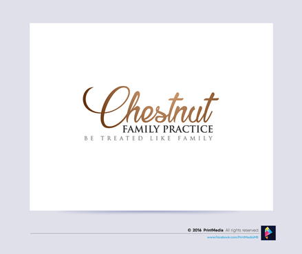 Chestnut Family practice A Logo, Monogram, or Icon  Draft # 4 by PrintMedia