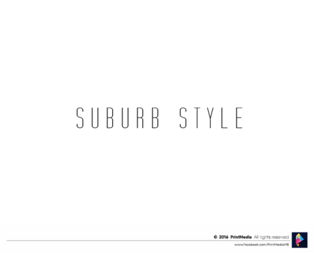 Suburb Style A Logo, Monogram, or Icon  Draft # 26 by PrintMedia