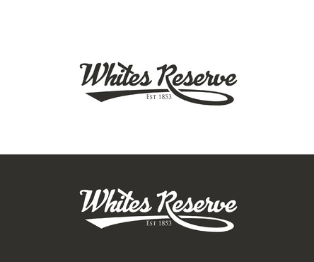 Whites  Reserve  Est 1853 A Logo, Monogram, or Icon  Draft # 14 by Designeye