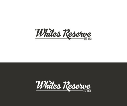 Whites  Reserve  Est 1853 A Logo, Monogram, or Icon  Draft # 15 by Designeye