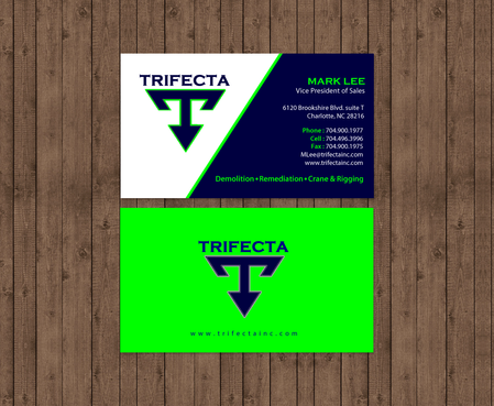 Triefecta Business Cards and Stationery Winning Design by einsanimation
