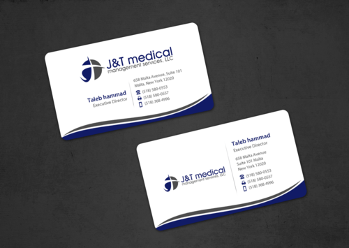 Medical management company  Business Cards and Stationery Winning Design by einsanimation