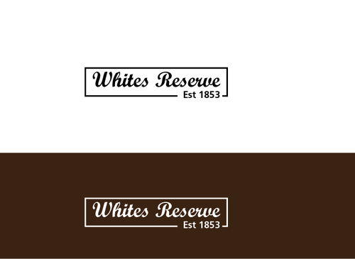 Whites  Reserve  Est 1853 A Logo, Monogram, or Icon  Draft # 90 by musammim97