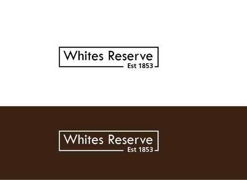 Whites  Reserve  Est 1853 A Logo, Monogram, or Icon  Draft # 91 by musammim97