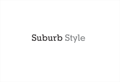 Suburb Style A Logo, Monogram, or Icon  Draft # 320 by afiafalisha