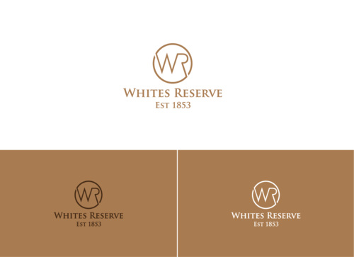 Whites  Reserve  Est 1853 A Logo, Monogram, or Icon  Draft # 140 by StillDunno