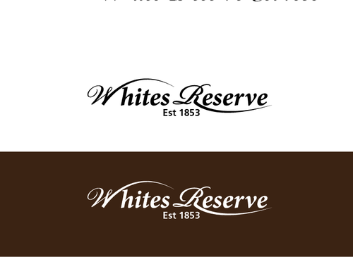 Whites  Reserve  Est 1853 A Logo, Monogram, or Icon  Draft # 189 by musammim97