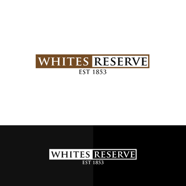 Whites  Reserve  Est 1853 A Logo, Monogram, or Icon  Draft # 190 by UniqueGrafix