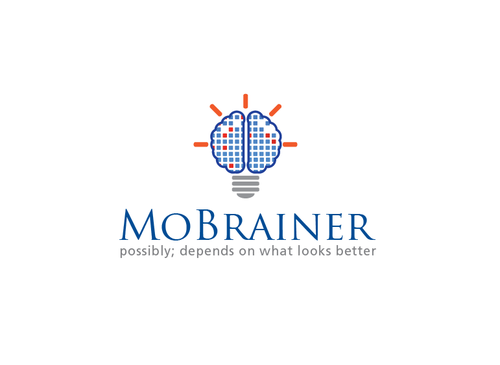 MoBrainer -- possibly; depends on what looks better A Logo, Monogram, or Icon  Draft # 116 by musammim97