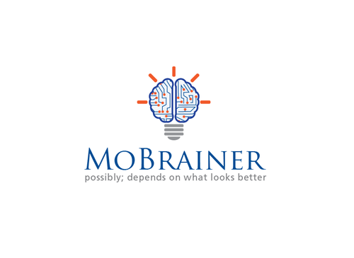 MoBrainer -- possibly; depends on what looks better A Logo, Monogram, or Icon  Draft # 117 by musammim97