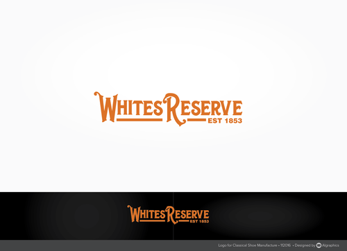 Whites  Reserve  Est 1853 A Logo, Monogram, or Icon  Draft # 224 by ALgraphics