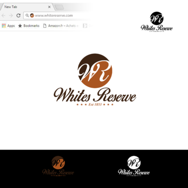Whites  Reserve  Est 1853 A Logo, Monogram, or Icon  Draft # 302 by Tensai971