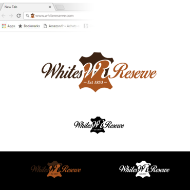 Whites  Reserve  Est 1853 A Logo, Monogram, or Icon  Draft # 310 by Tensai971