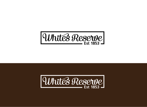 Whites  Reserve  Est 1853 A Logo, Monogram, or Icon  Draft # 316 by musammim97