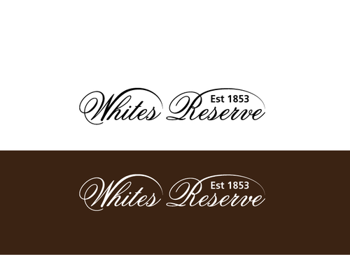 Whites  Reserve  Est 1853 A Logo, Monogram, or Icon  Draft # 317 by musammim97