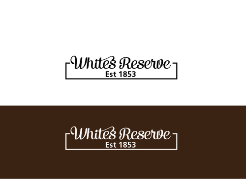 Whites  Reserve  Est 1853 A Logo, Monogram, or Icon  Draft # 321 by musammim97