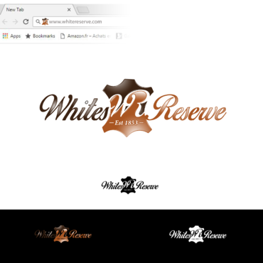 Whites  Reserve  Est 1853 A Logo, Monogram, or Icon  Draft # 322 by Tensai971