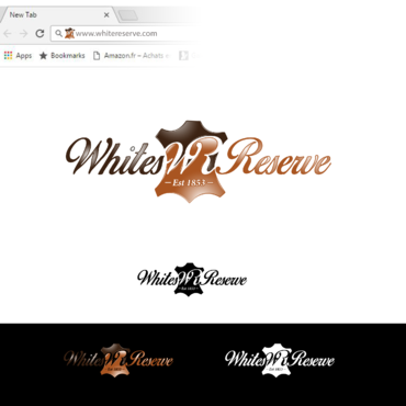 Whites  Reserve  Est 1853 A Logo, Monogram, or Icon  Draft # 323 by Tensai971