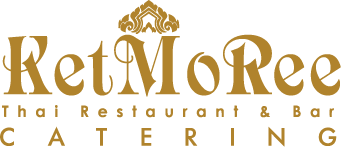 "Existing logo and ""catering"""
