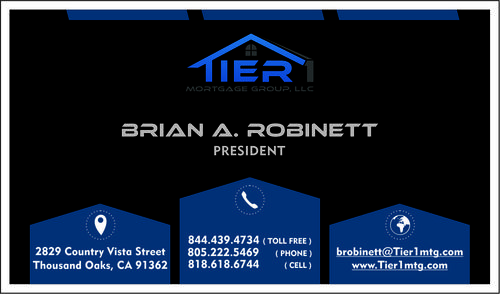 Tier 1 Mortgage Group, LLC Business Cards and Stationery  Draft # 140 by naraprint
