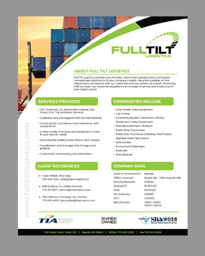 FULL TILT LOGISTICS Other Winning Design by pivotal