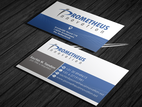 Prometheus Innovation B.V. Business Cards and Stationery  Draft # 62 by schary