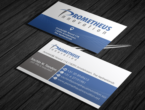Prometheus Innovation B.V. Business Cards and Stationery  Draft # 63 by schary