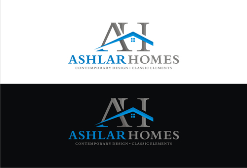 Ashlar Homes Logo Winning Design by letmein