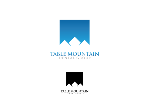 Table Mountain Dental Group A Logo, Monogram, or Icon  Draft # 210 by ThorJack