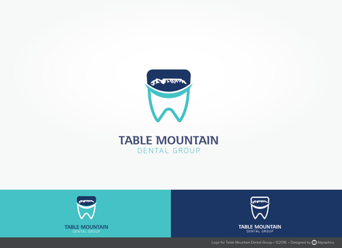 Table Mountain Dental Group A Logo, Monogram, or Icon  Draft # 211 by ALgraphics