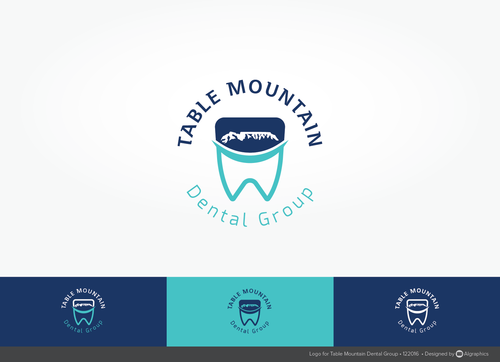 Table Mountain Dental Group A Logo, Monogram, or Icon  Draft # 213 by ALgraphics