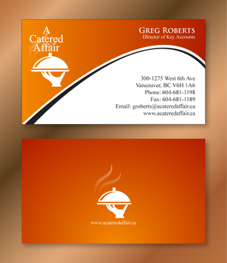 Logo for catering company Business Cards and Stationery Winning Design by XtremeCreative2