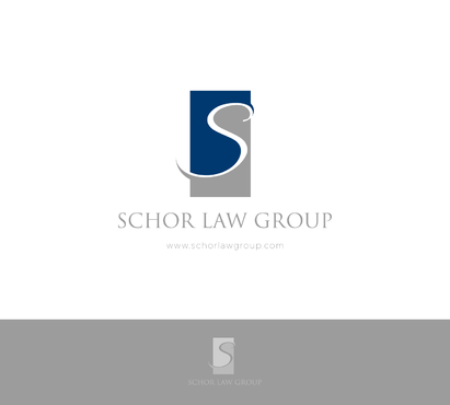 Schor Law Group A Logo, Monogram, or Icon  Draft # 23 by eljocreation