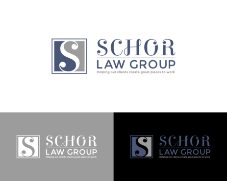 Schor Law Group A Logo, Monogram, or Icon  Draft # 260 by simpleway