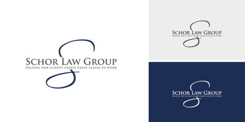 Schor Law Group A Logo, Monogram, or Icon  Draft # 523 by Chlong2x