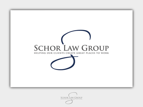 Schor Law Group Logo Winning Design by Chlong2x