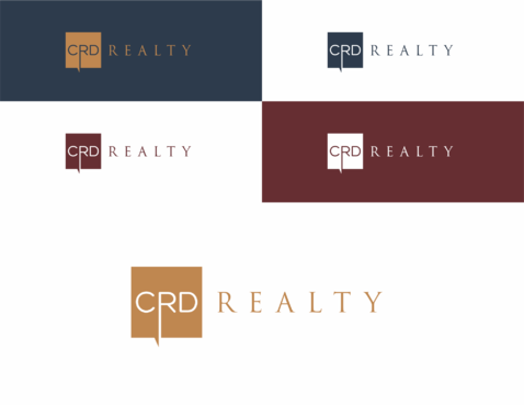 CRD Realty Logo Winning Design by aNtree