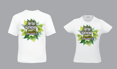 Design by pivotal For Herbal Salvation needs multiple kick ass T-Shirts designed by the best on Zillion!!!