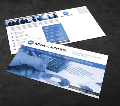 Local Federal Account Specialist for Konica Minolta Marketing collateral  Draft # 2 by Achiver