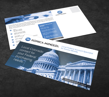 Local Federal Account Specialist for Konica Minolta Marketing collateral  Draft # 4 by Achiver