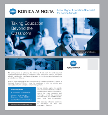 Local Higher Education Specialist for Konica Minolta