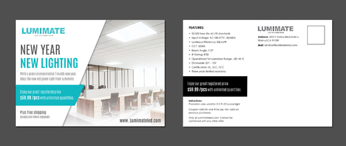 Lumimate Lighting Company Marketing collateral Winning Design by pivotal