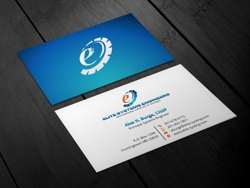 Elite Systems Engineers (EliteSE) Business Cards and Stationery  Draft # 2 by Xpert