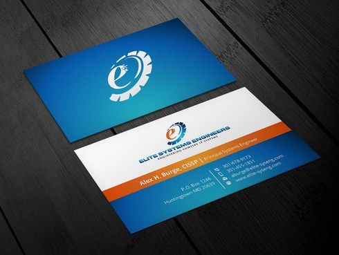 Elite Systems Engineers (EliteSE) Business Cards and Stationery  Draft # 3 by Xpert