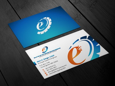 Elite Systems Engineers (EliteSE) Business Cards and Stationery  Draft # 4 by Xpert