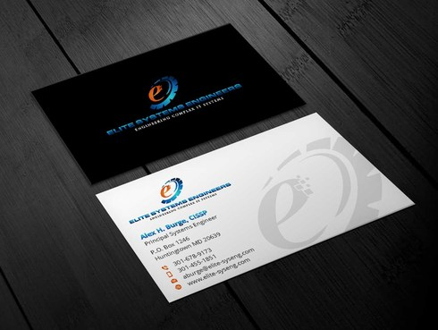 Elite Systems Engineers (EliteSE) Business Cards and Stationery  Draft # 5 by Xpert